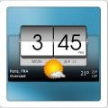 دانلود 3D Flip Clock & World Weather v2.11.09 برنامه ساعت برای اندروید